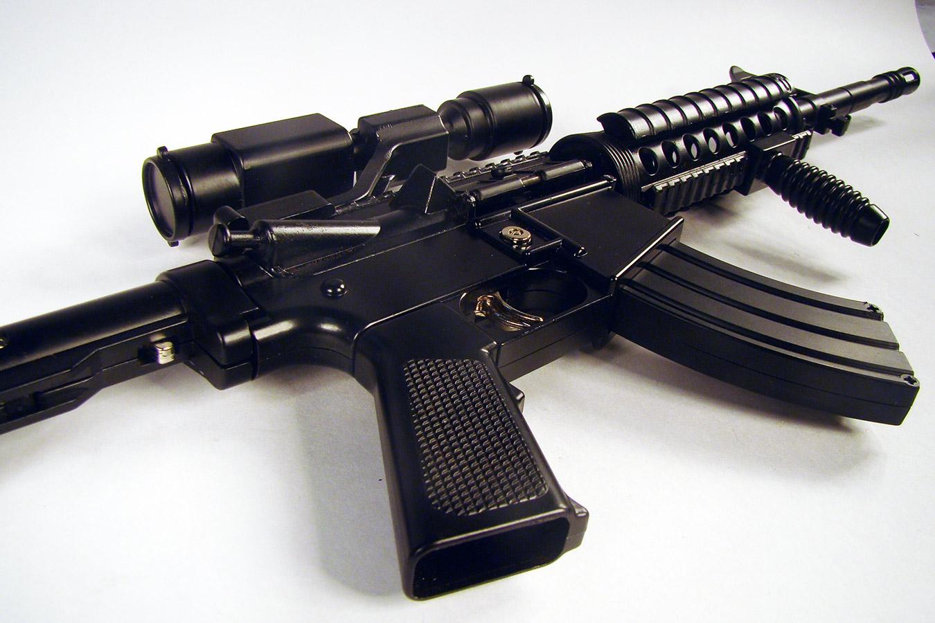 Colt M4 в масштабе 1:2 изображение 2