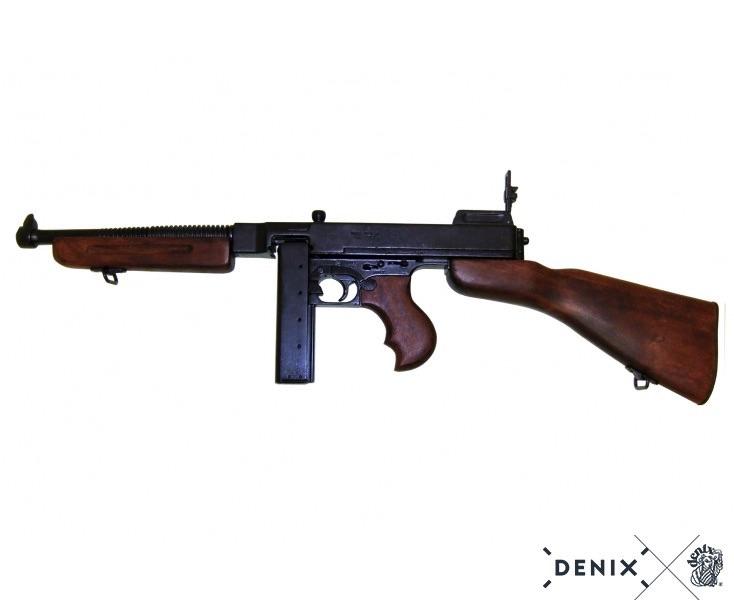Макет автомата Томпсона M1A1 от Denix в масштабе 1:1
