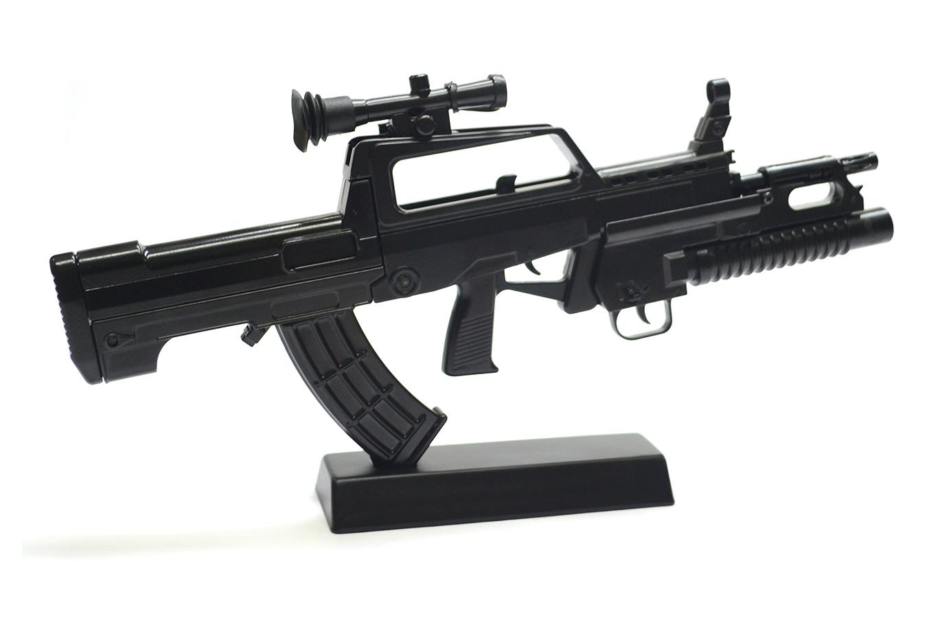 Макет штурмовой винтовки QBZ-95 / Type 95 в масштабе 1:3