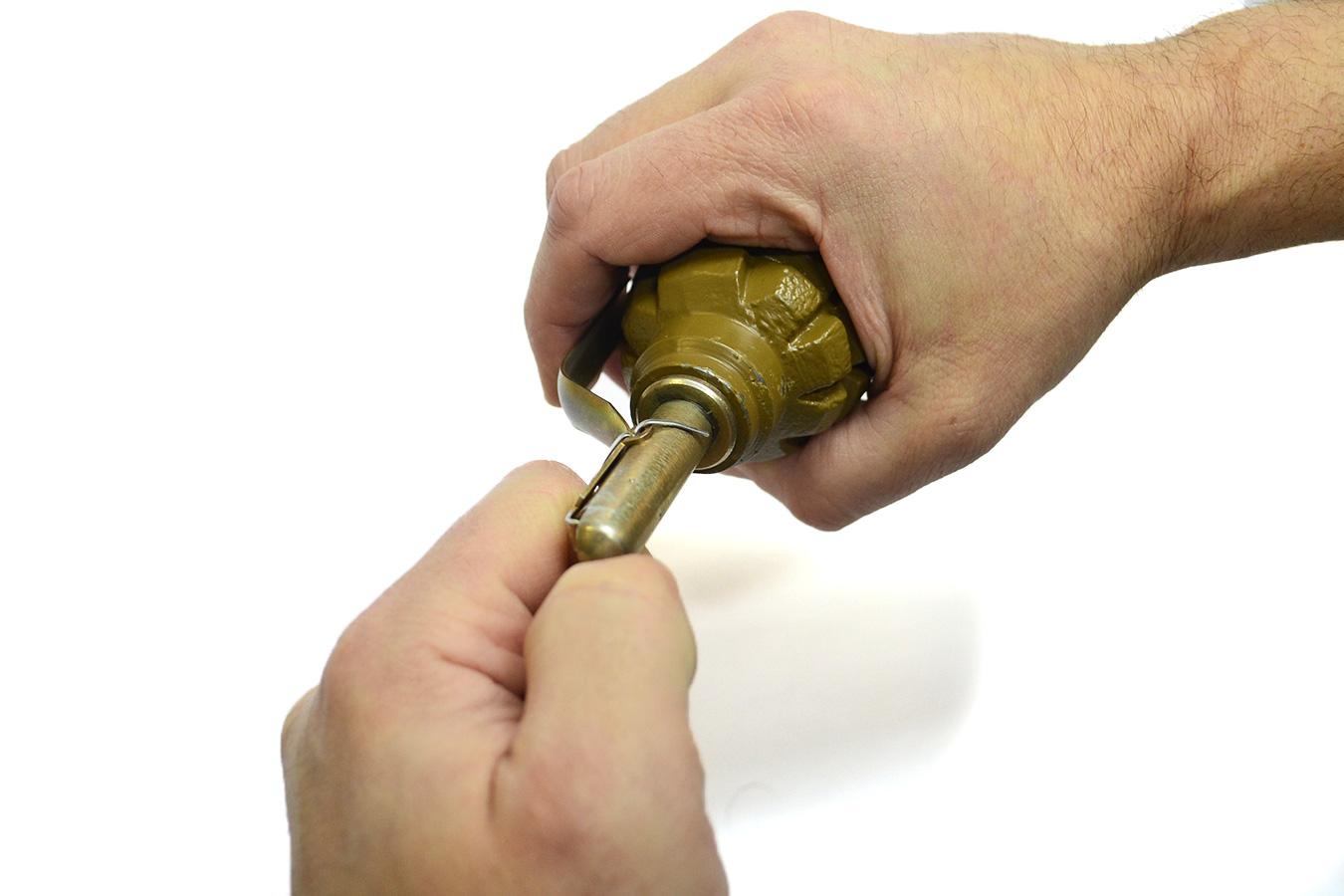 Макет гранаты Ф1 изображение 3