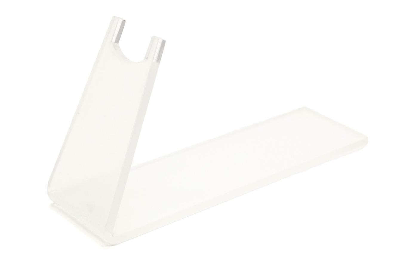 Пластиковая прозрачная подставка для макета оружия