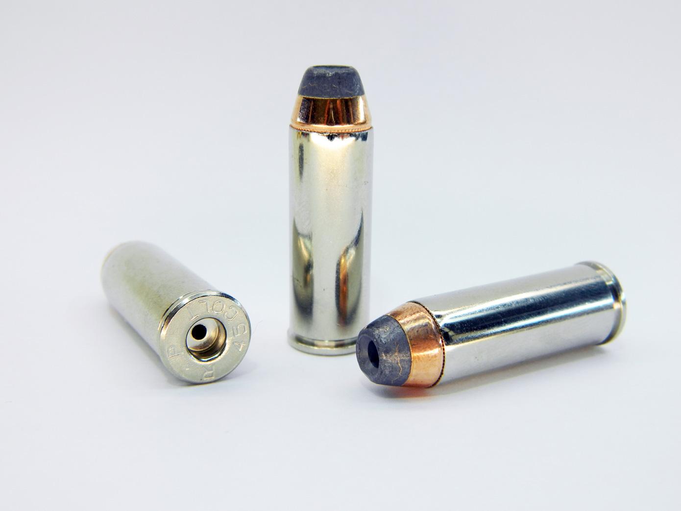 Макет патрона .45 Colt для револьвера Colt SAA