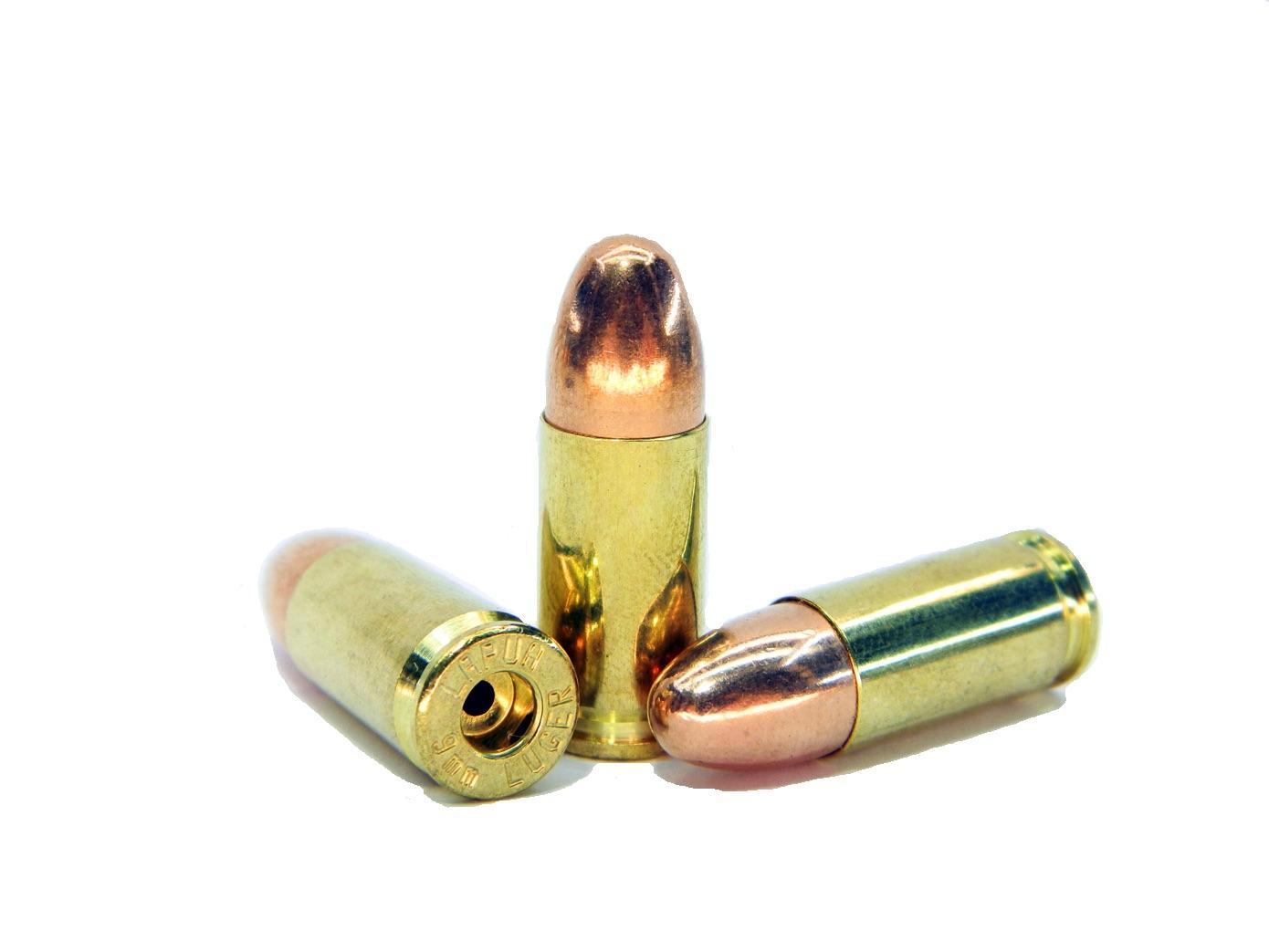 Макет патрона 9mm Luger для пистолета Luger P08, Beretta 92 и многих других