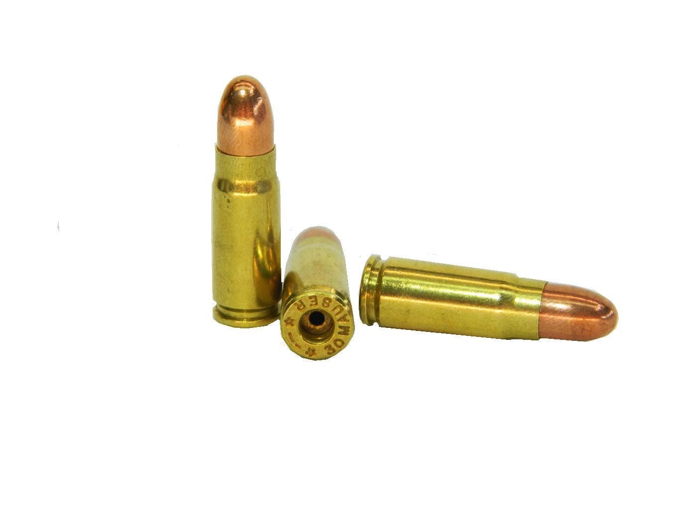 Макет патрона 7,63mm Mauser для пистолета Mauser C96 и многих других