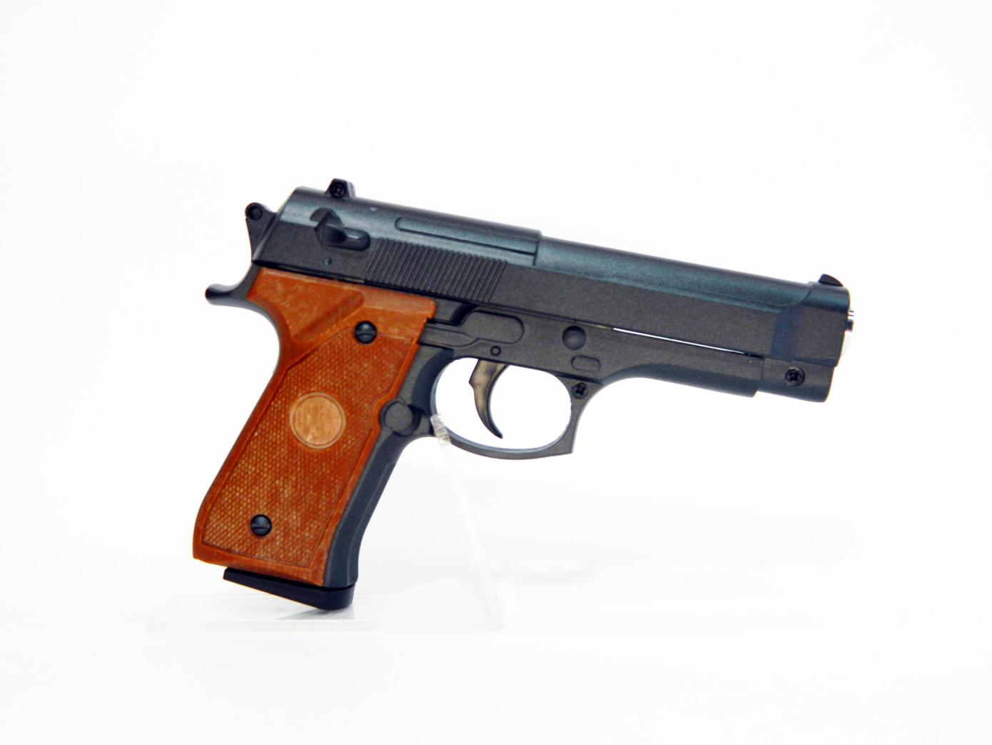 Макет пистолета Beretta 92 mini в натуральную величину