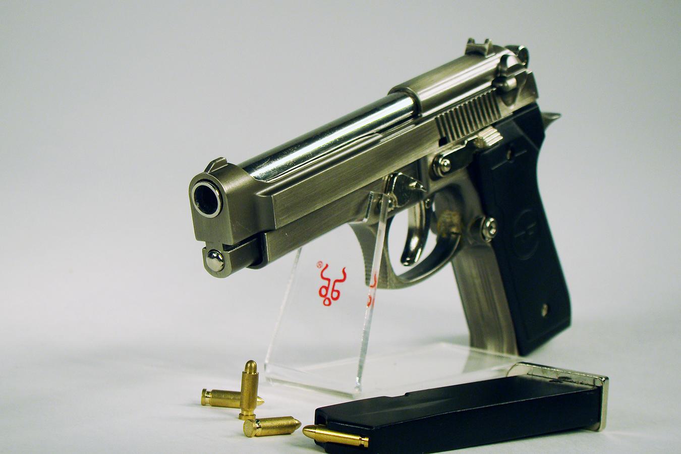 Beretta 92FS 15 см серая изображение 4
