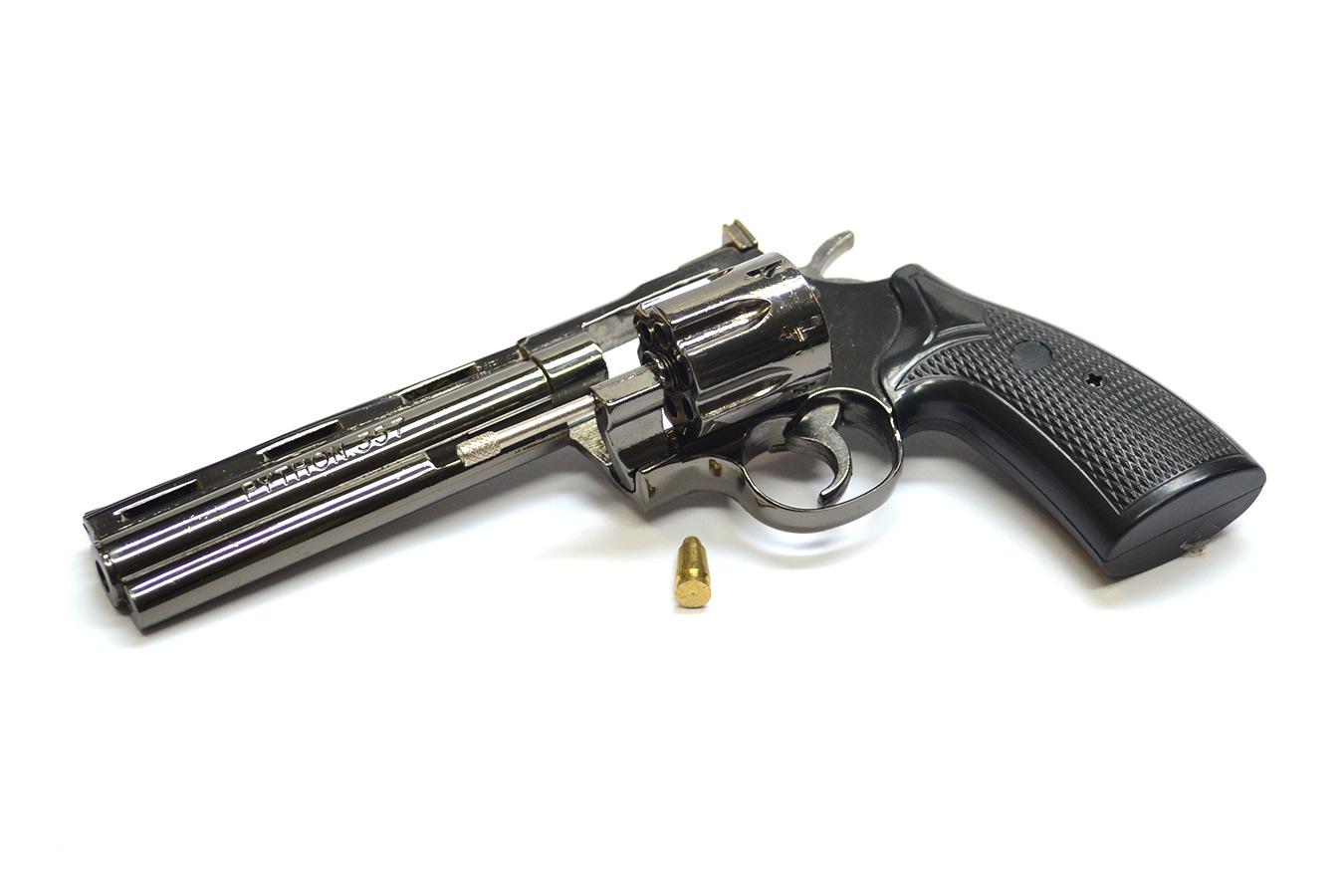 Макет револьвера Colt Python с 152 мм стволом в масштабе 1:2