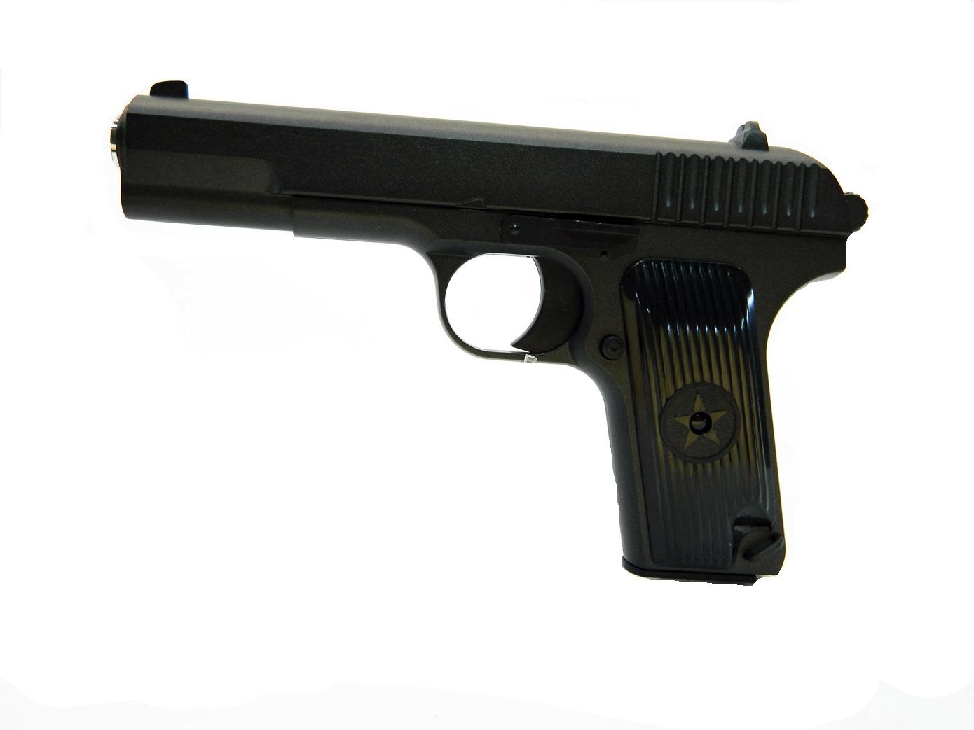 Макет пистолета Токарева ТТ в масштабе 1:1