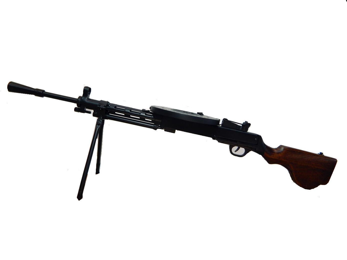 Макет пулемета ДП-27 в масштабе 1:2