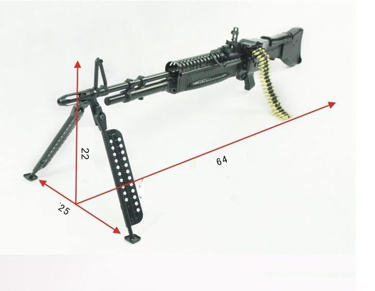 Макет пулемета M60 в масштабе 1:2 [M6012]
