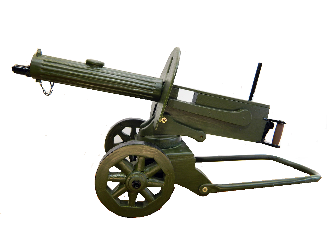 Пулемет Максим в масштабе 1:3