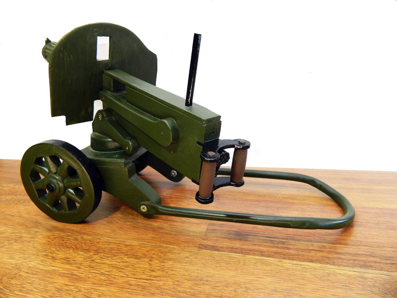Пулемет Максим дерево изображение 1