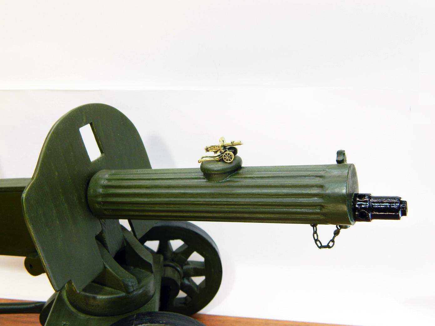 Пулемет Максим дерево изображение 3