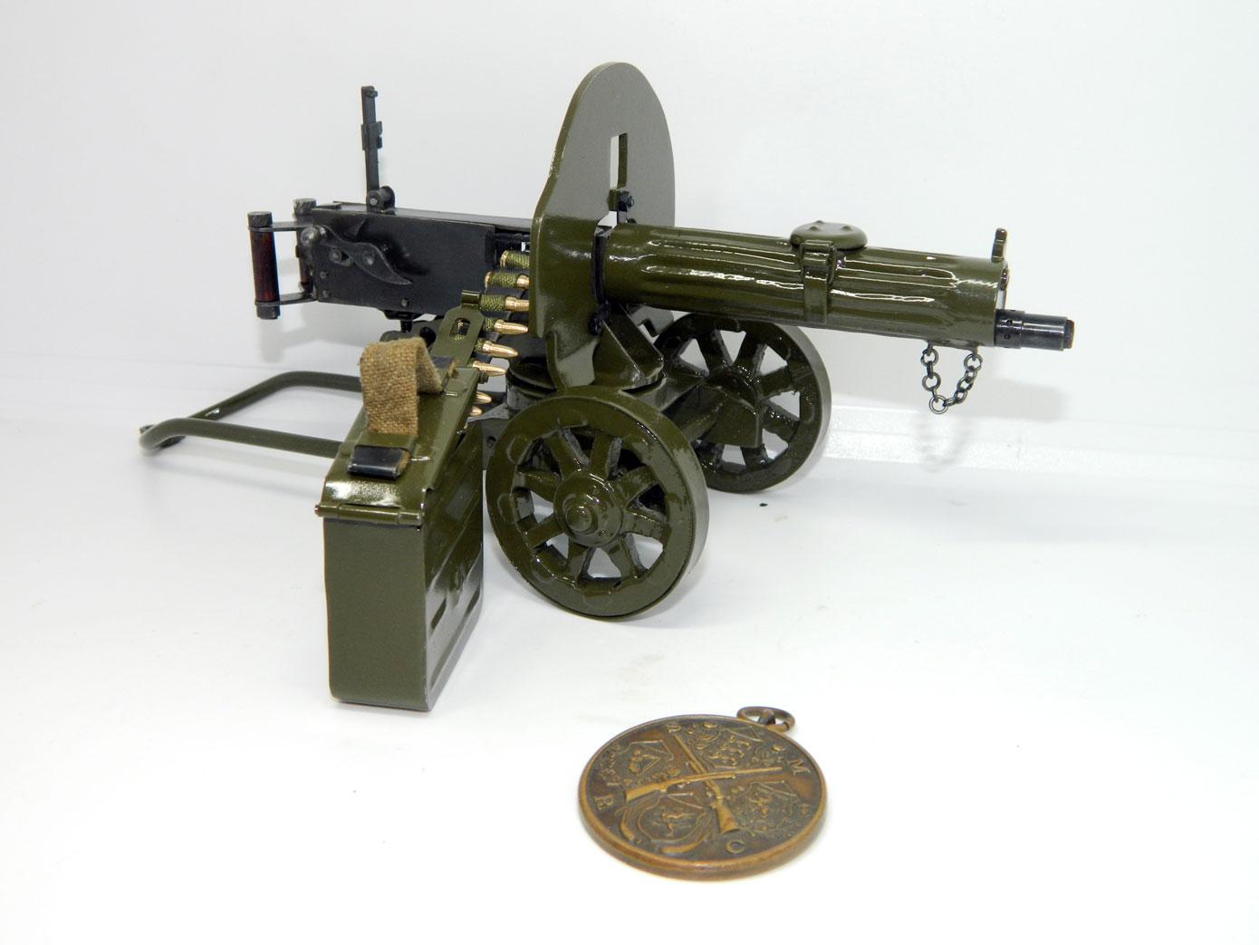 Пулемет Максим в масштабе 1:2 [MAX12]
