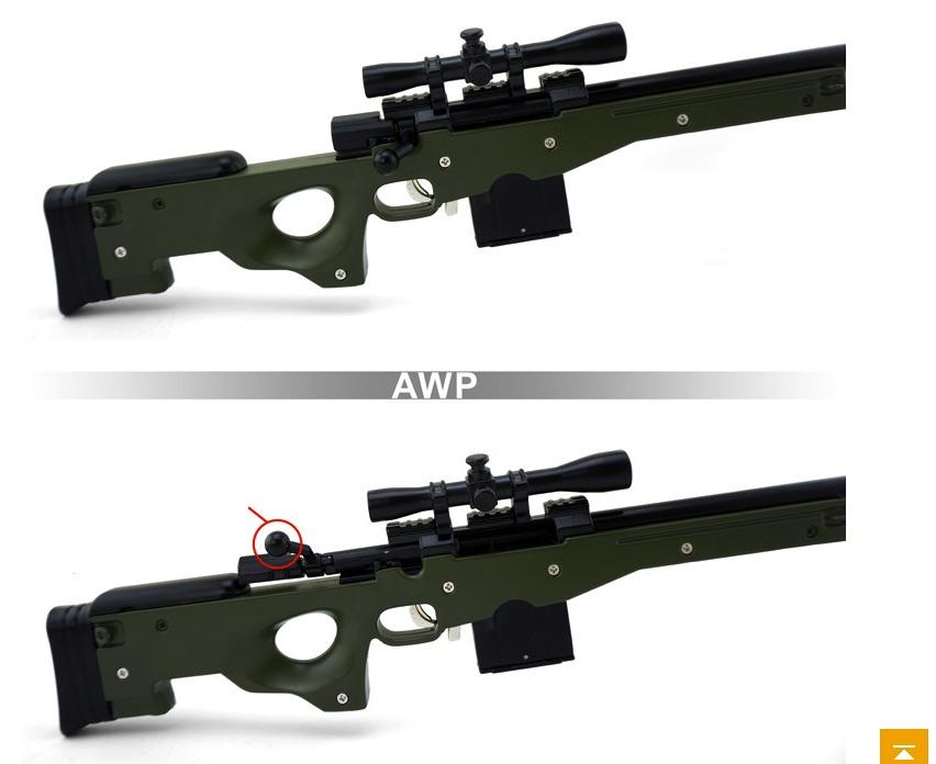 AWP L96A1 1:3 хаки изображение 3