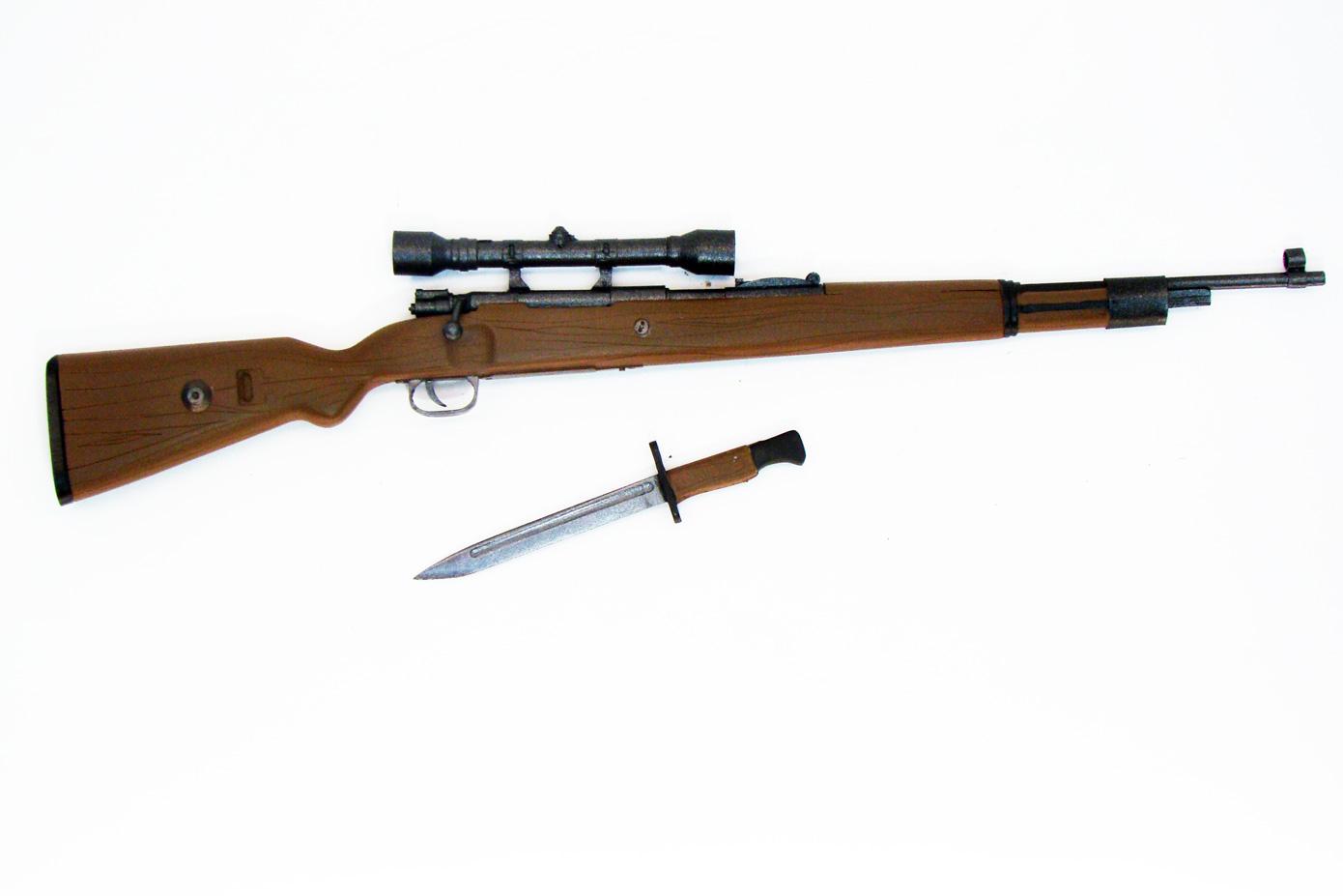 Макет винтовки Mauser K98 от Verlinden в масштабе 1:4