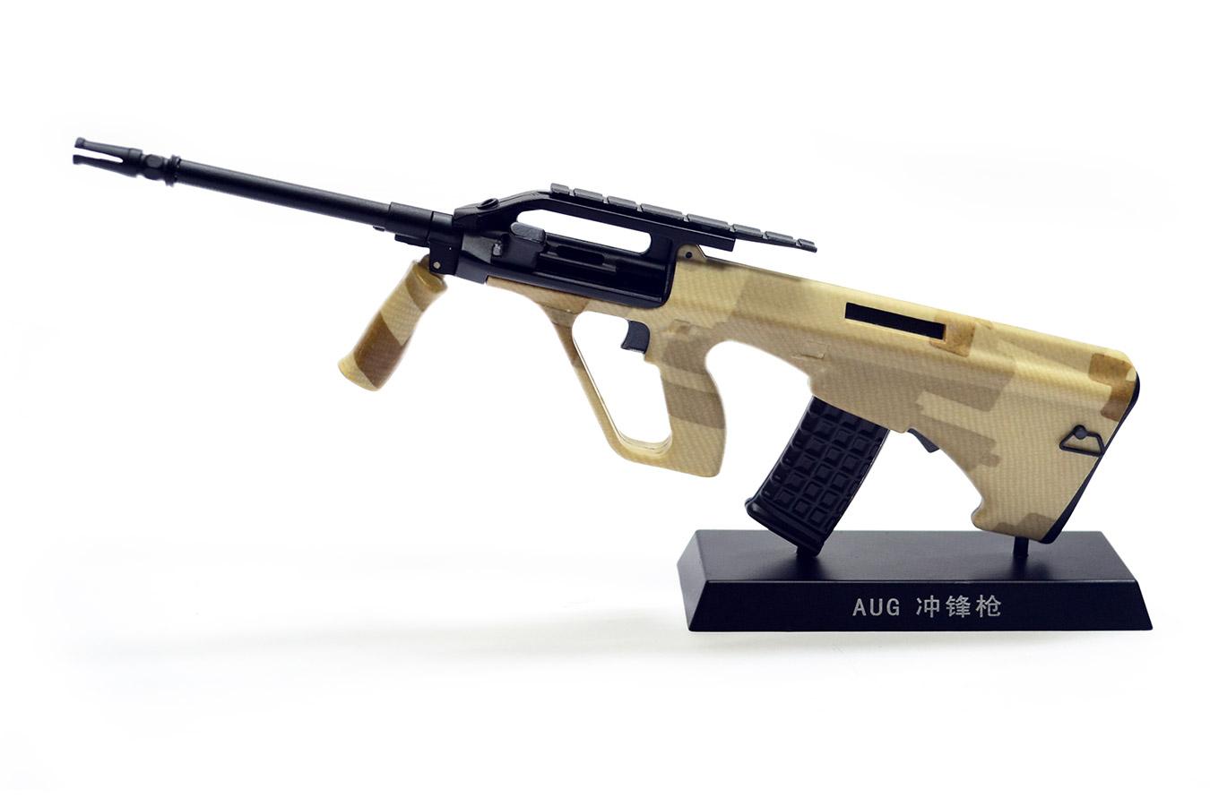 Макет армейской винтовки Steyr AUG в масштабе 1:4 хаки