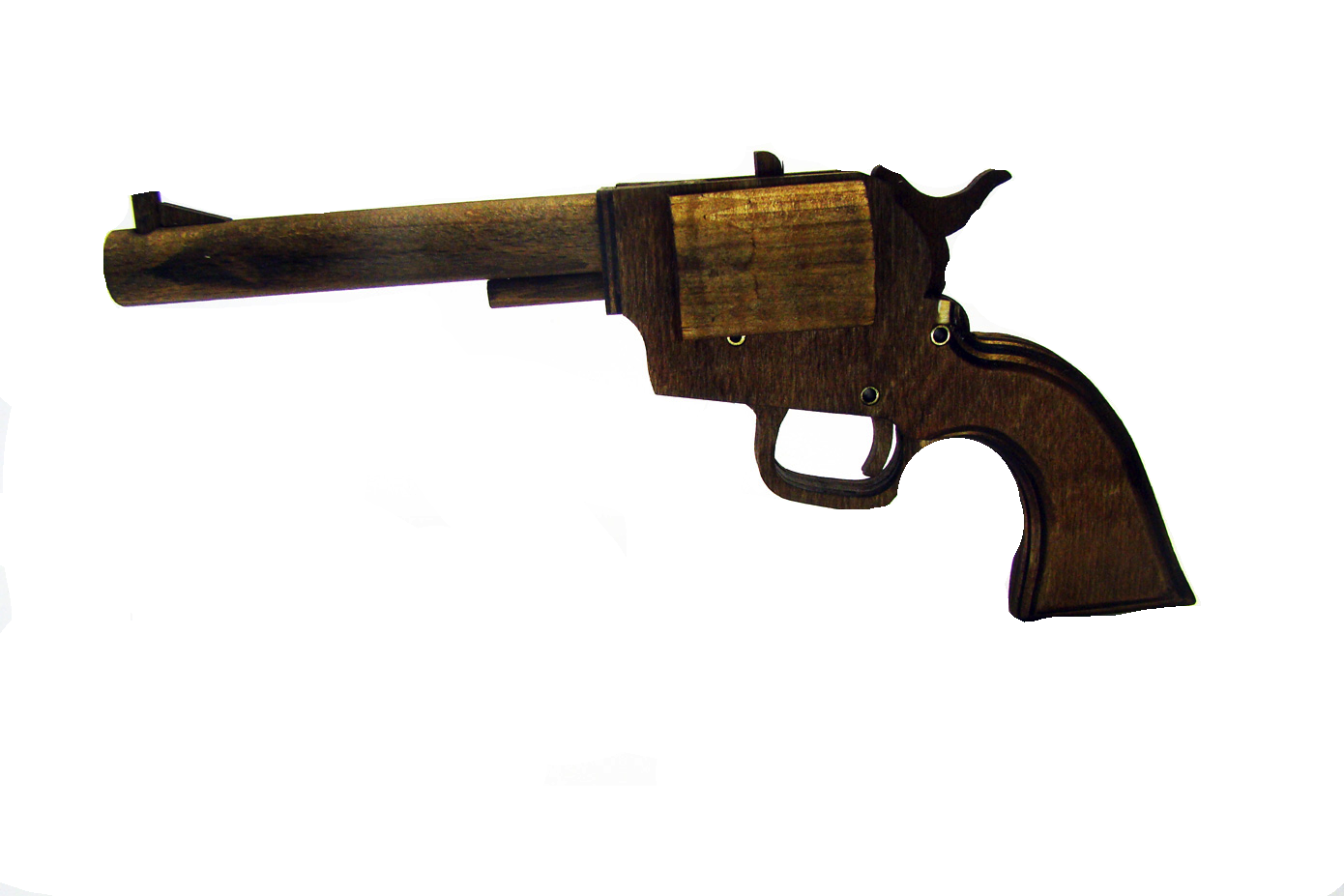Деревянный макет пистолета Colt PeaceMaker