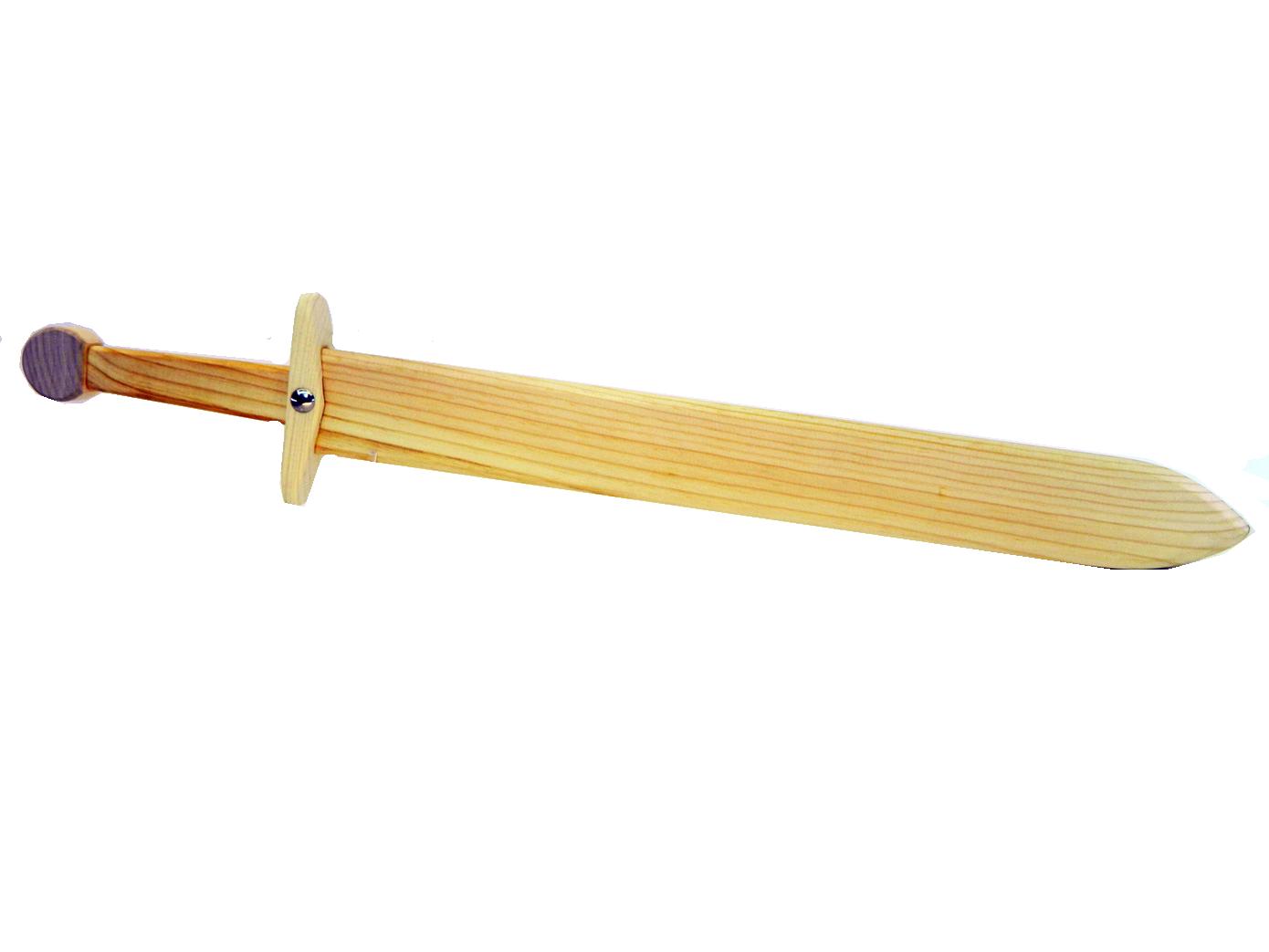 Учебный деревянный меч средний