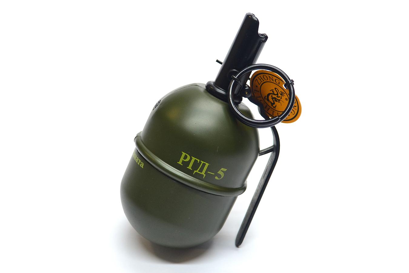 Зажигалка граната РГД-5 изображение 0