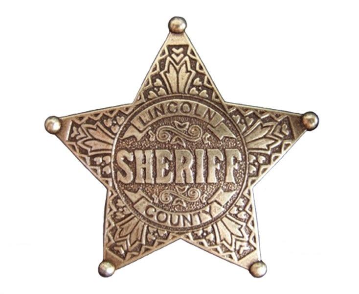 Значек Шерифа Denix Sheriff Linkoln 104