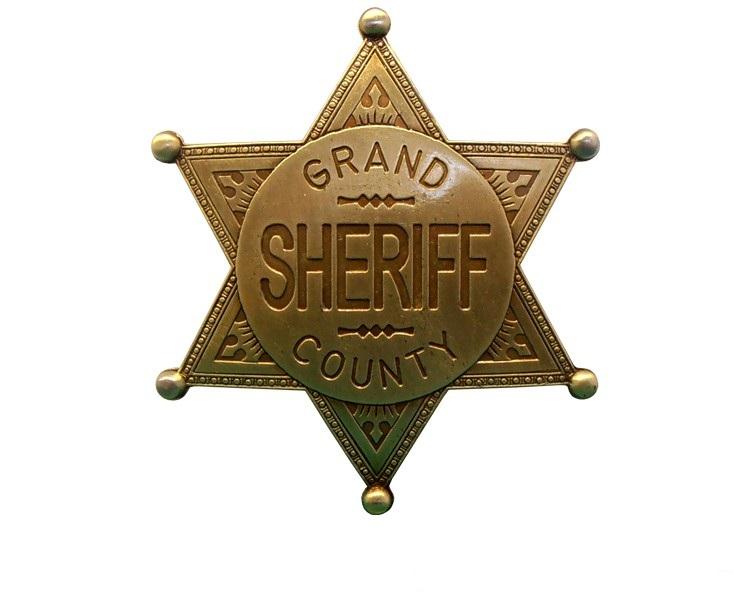 Значек Окружного Шерифа Denix Sheriff Grand County стальной 113